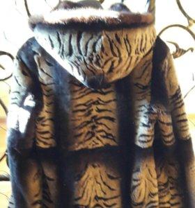 Куртка мутоновая женская