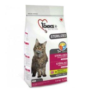 1ST CHOICE для стерилизованных взрослых кошек
