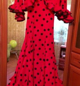 Платье для фламенко