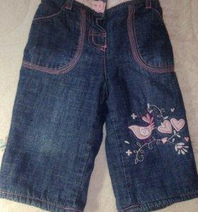 Утепленные джинсы от 1 до 5 мес