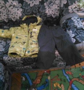 Костюм на весну для мальчика 92 reima