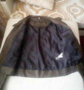 Женская куртках натуральная кожа