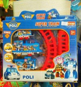 Железная дорога <<Поли Робокар>>