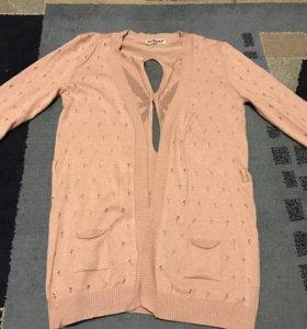 Кофта розовая / Кардиган