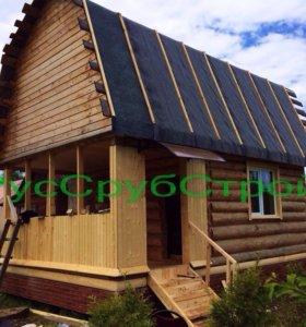 Дачный домик 4х5 м.