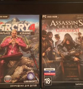 FAR CRY 4 и ASSASSIN'S CREED SYNDICATE (PC)