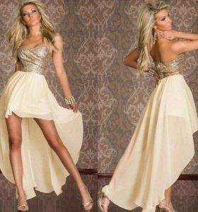 Коктейльное платье в аренду 44