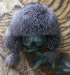 Шапка зимняя с нат.мехом