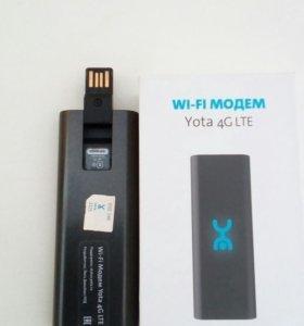 WI Fl модем YOta 4G LTE