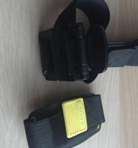 Крепления для экшн камеры на голову и руку
