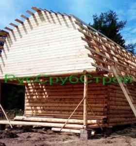 Дом из чистого леса