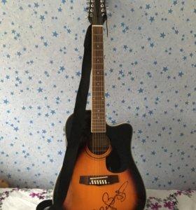 Электроакустическая гитара Martinez FAW802TRS12CEQ