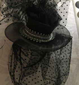 Шляпка на ободке