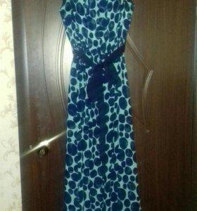 Платье в пол р.52 Турция