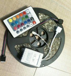 Светодиодная лента RGB + контроллер