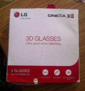 Очки 3d Lg cinema