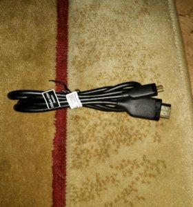 Оригинальный hdmi кабель sony