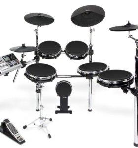 Электронные барабаны Alesis DM10 studio kit mesh