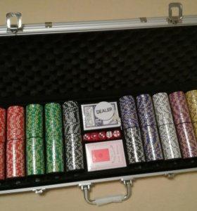 Покер новый 500 фишек