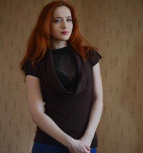 Блуза и кофточка