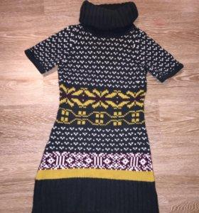Вязаное платье clockhouse