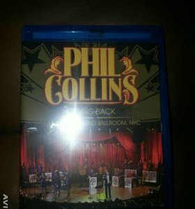 Phil Collins blu-ray