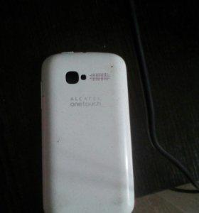 Крышка на телефон Alcatel onetouch