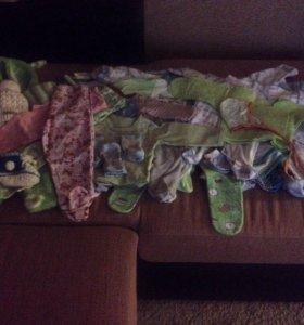 Пакет вещей для младенца 0-3 мес