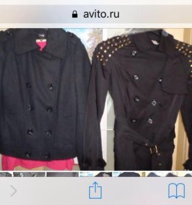 Куртка и полупальто размер 40-42