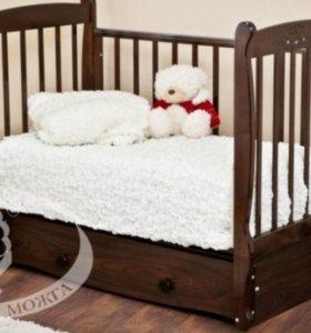 Детская кроватка Можга(красная Звесда)Елисей