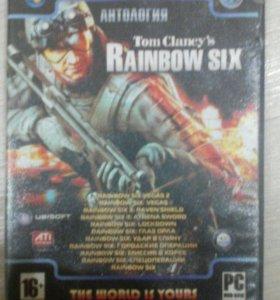 Набор версий Tom Clancy's Rainbow six