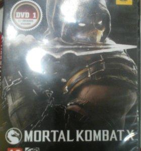 Mortal Kombat X 1 диск