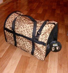 Новая сумка-переноска для животных