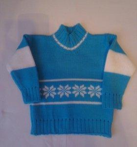 Детский свитер новый