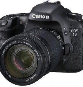 Canon eos 7d ef-s 18-135 is kit