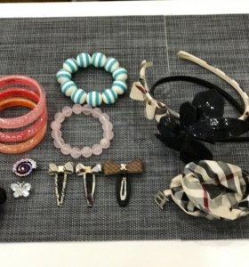 Заколки, браслеты, ободки