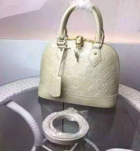 Сумка Louis Vuitton Alma молоко