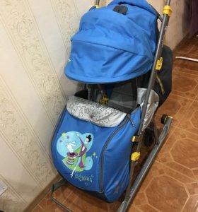 """Санки Ника-7 детям серия """"Цирк"""""""