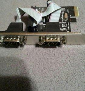 Контроллер PCI-E MS9922 2xCOM Bulk <ASIA PCIE 2S>