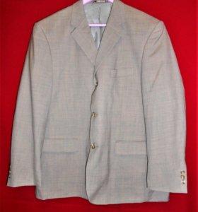 Винтажный шерстяной пиджак Canda