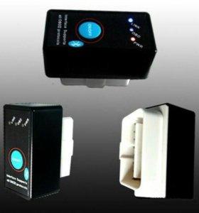 Bluetooth OBD2 диагностику ELM327 v1.5 с кнопкой
