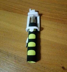 Палки для селфи (моноподы) с мягкой ручкой