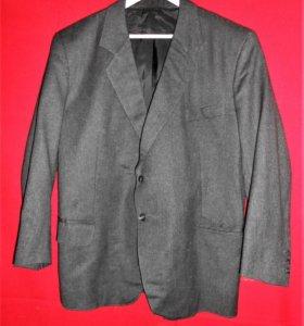 Винтажный шерстяной пиджак