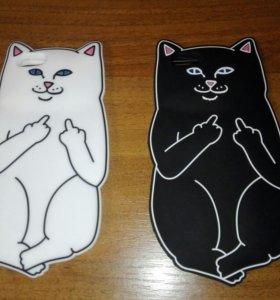Чехол в виде кота, для айфона 4/4S, 5/5S, 6/6S, 6+