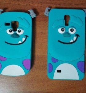 Мультяшный чехол для Samsung Galaxy S3 mini, S4