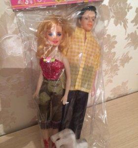 Кен и кукла