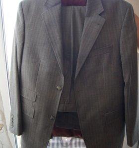 Мужской костюм Armani оригинал 48 размер