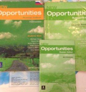 Комплект opportunities intermediate