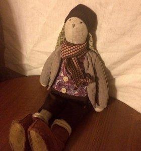Кукла заяц ручной работы