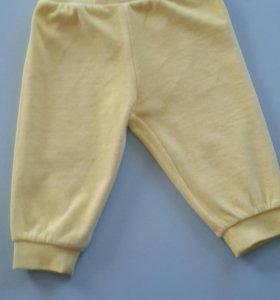 Новые веллюровые штанишки Пеликан